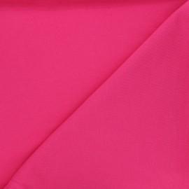 Tissu sweat léger Uni - fuchsia x 10cm