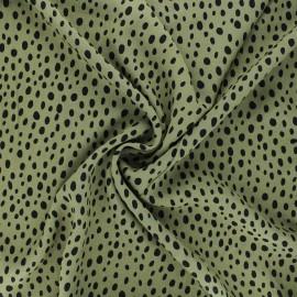 Radiance by Penelope® viscose fabric - ochre Zeta x 10cm