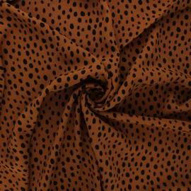 Radiance by Penelope® viscose fabric - camel Zeta x 10cm