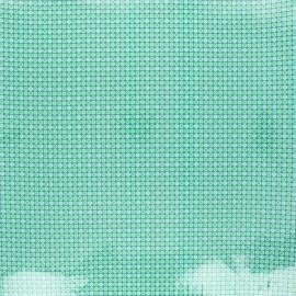 Tissu coton enduit Petit Pan Django - vert boréal x 10cm