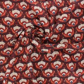 Tissu viscose lurex Bindaya by Penelope® - ocre x 10cm