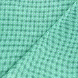 Tissu coton Petit Pan Django - vert boréal x 10cm
