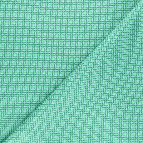 Petit Pan cotton fabric - boreal green Django x 10cm