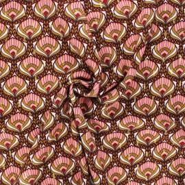 Lurex plumetis viscose fabric by Penelope® - lilac Bindaya x 10cm