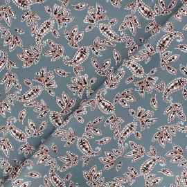 Tissu gabardine élasthanne Paislig by Penelope® - gris x 10cm