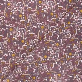 Tissu jersey Liabey - violet x 10cm