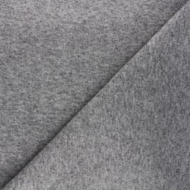 Knit fabric - taupe grey Windy x 10cm
