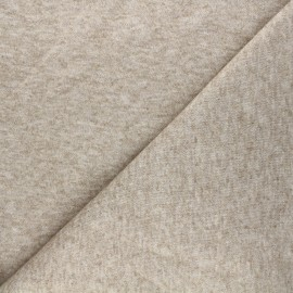 Knit fabric - beige Windy x 10cm
