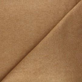 Tissu maille tricot Windy - camel x 10cm