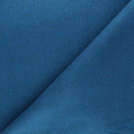 Tissu maille tricot Windy - bleu canard x 10cm