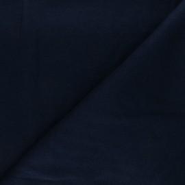 Tissu maille tricot Windy - bleu marine x 10cm