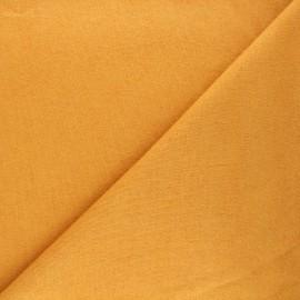 Tissu maille tricot Windy - jaune moutarde x 10cm