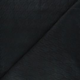 Tissu maille tricot Pied-de-coq - noir x 10cm