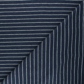 French terry fabric - blue Frenchy x 10cm