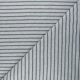 French terry fabric - grey Frenchy x 10cm