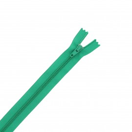 Nylon zipper - green