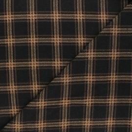 Tissu maille polyviscose Scotland - beige x 10cm