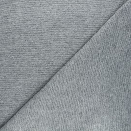 Tissu sweat léger lurex Liny - gris x 10cm