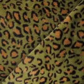 Faux fur fabric - green Ivanova x 10cm