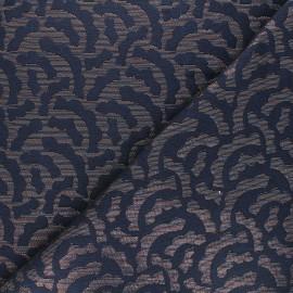 Tissu Walkie Talkie Jacquard Mirage - Twilight x 10cm