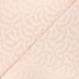 Tissu Walkie Talkie Jacquard Mirage - Aurore x 10cm