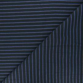 Walkie Talkie Jacquard fabric - Neptune Escale x 10cm