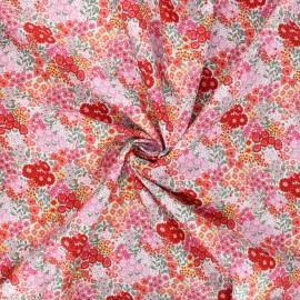 Cotton poplin fabric - pink Hema x 10cm