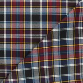 Tartan fabric - raw Glastonbury x 10cm