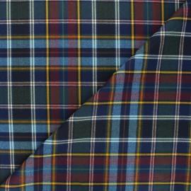 Tartan fabric - blue Glastonbury x 10cm