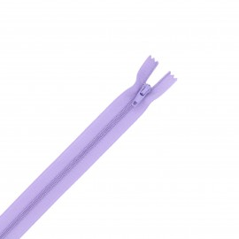 Nylon zipper - lavender
