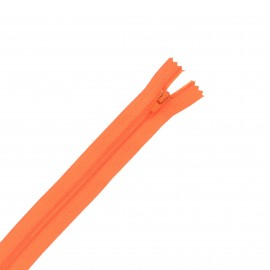 Nylon zipper - orange