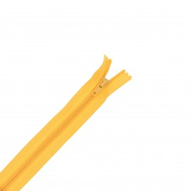 Nylon zipper - yellow