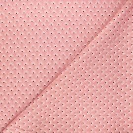 Poppy poplin cotton fabric - pink Fantasy flower A x 10cm