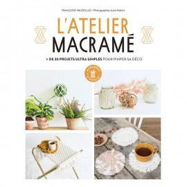 """Livre """"L'atelier macramé"""""""