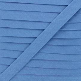 20 mm Polycotton Bias binding - Newport blue x 1m