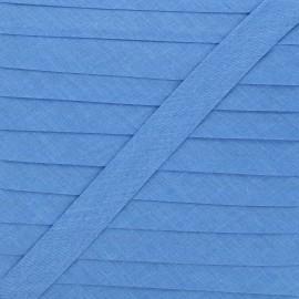 20 mm Polycotton Bias binding - blue jean x 1m