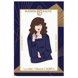 Dress/blouse sewing pattern Maison Fauve - Lauren
