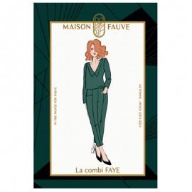 Jumpsuit sewing pattern Maison Fauve - Faye