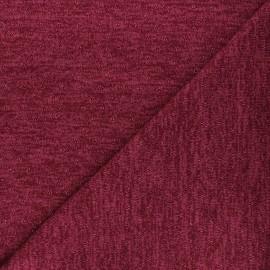 Openwork lurex knitted fabric - raspberry Nino x 10cm
