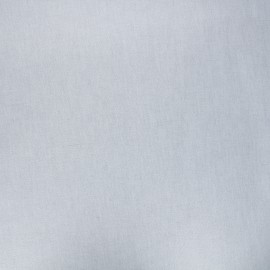 Pearly coated cretonne cotton fabric - pearl grey x 10cm