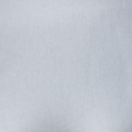 Tissu coton cretonne enduit nacré - crème x 10cm