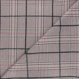 Tissu polyviscose lurex Hive - bordeaux x 10cm