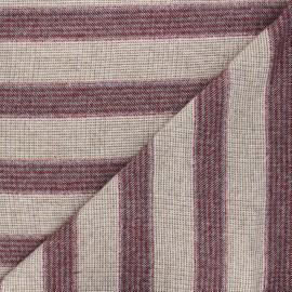 Tissu lainage léger Tessa - rose  x 10cm