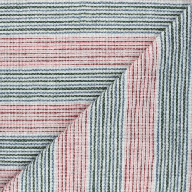 Tissu lainage léger Linea - blanc x 10cm