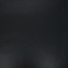 Pearly coated cretonne cotton fabric - black x 10cm