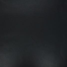 Tissu coton cretonne enduit nacré - noir x 10cm