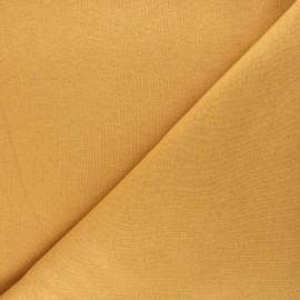Tissu sweat uni Jo - noisette x 10cm