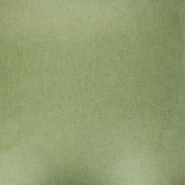 Pearly coated cretonne cotton fabric - moss green x 10cm