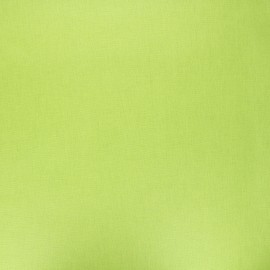 Pearly coated cretonne cotton fabric - anise green x 10cm