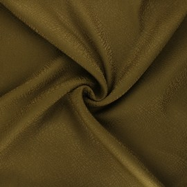 Stretch polyviscose jacquard fabric - green Tilda x 10cm